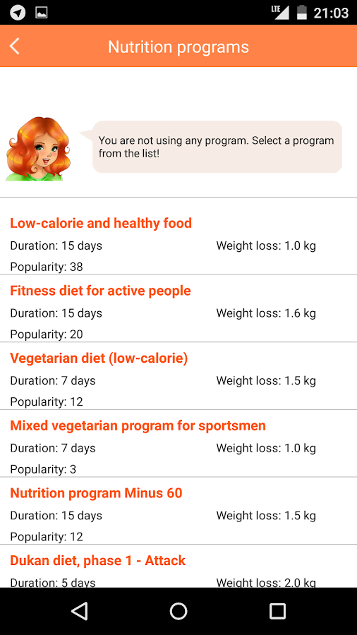 Lose weight without dieting Screenshot 4