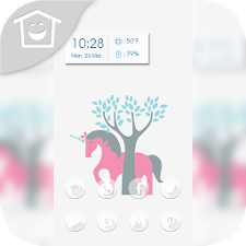 Cute red pony theme
