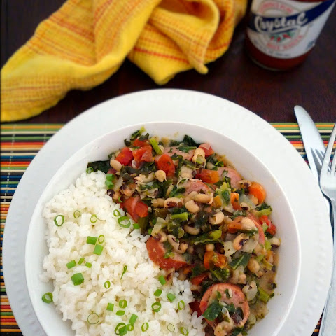 Cajun Black Eyed Peas