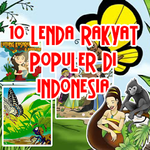 10 Legenda Poluler Indonesia - screenshot