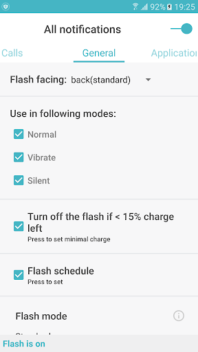 FlashOnCall + - screenshot