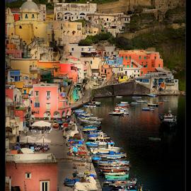 Procida by Enzo Minchella - Landscapes Travel ( costiera, procida, holidays, sea, boat, italy )