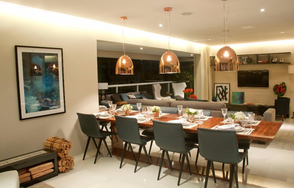 Foto da Sala de Jantar do Decorado