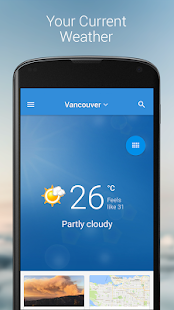 Free Download The Weather Network APK for Samsung