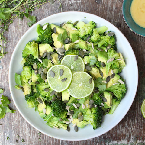 Broccoli, Avocado and Lime Salad