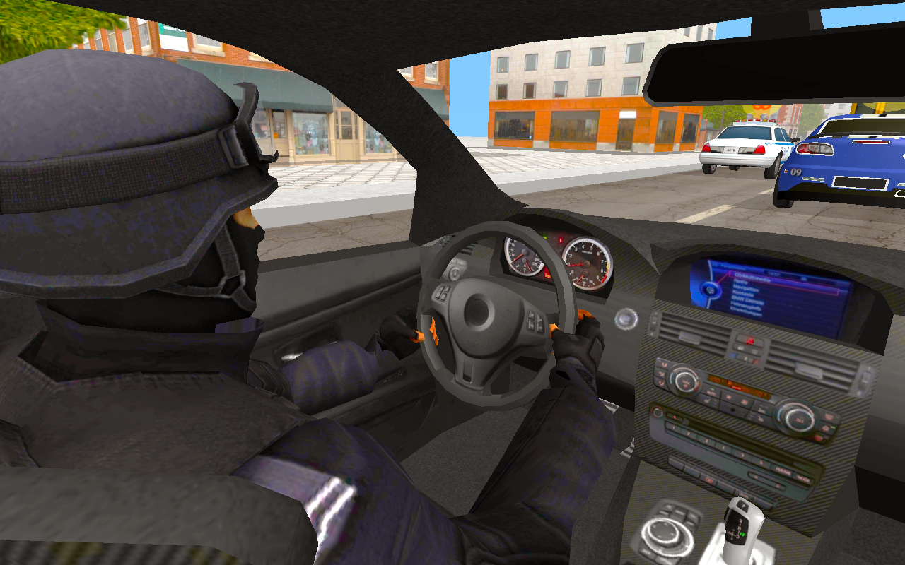 In Car Police Screenshot 1
