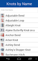 Screenshot of Knot Guide Free ( 100+ knots )