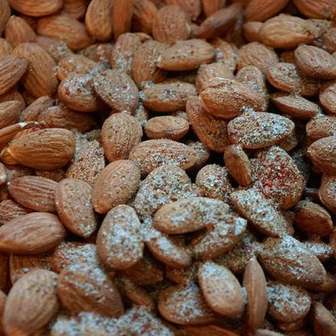 Irresistible Candy-Spiced Roasted Almonds