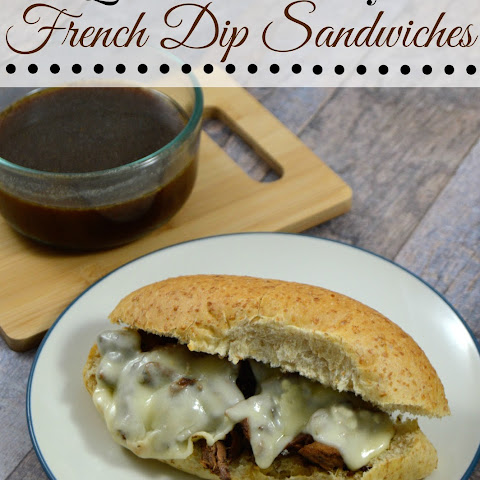 Quick Easy French Dip Sandwiches