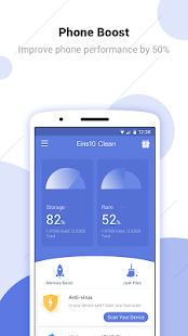 Eins10 Clean - Excellent clean, Boost, App lock for pc