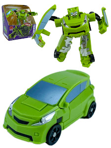 """Робот серии """"Город Игр"""" Трансформер S2 - Машинка, зеленый"""