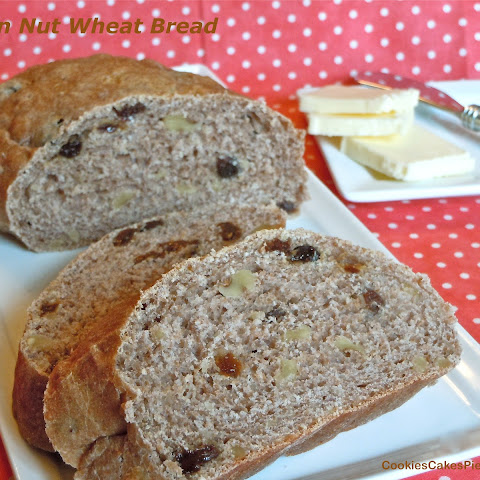 Raisin Nut Wheat Bread