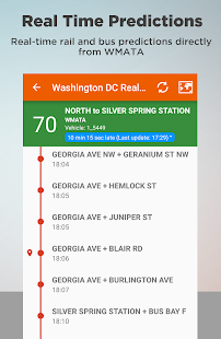 Washington DC Transit - screenshot