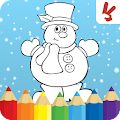 Game Kids coloring book christmas APK for Kindle