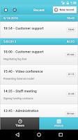 Screenshot of Yast - Time Tracker