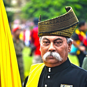 Malay Tradition by Mohd Khairil Hisham Mohd Ashaari - People Portraits of Men ( potrait, style, lifestyle, tradition, men,  )