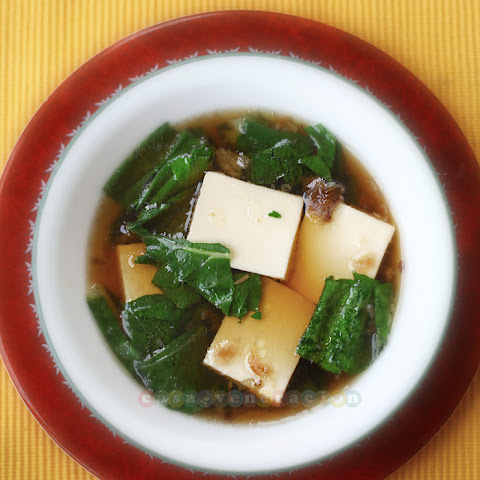 Soft Tofu And Pechay Soup