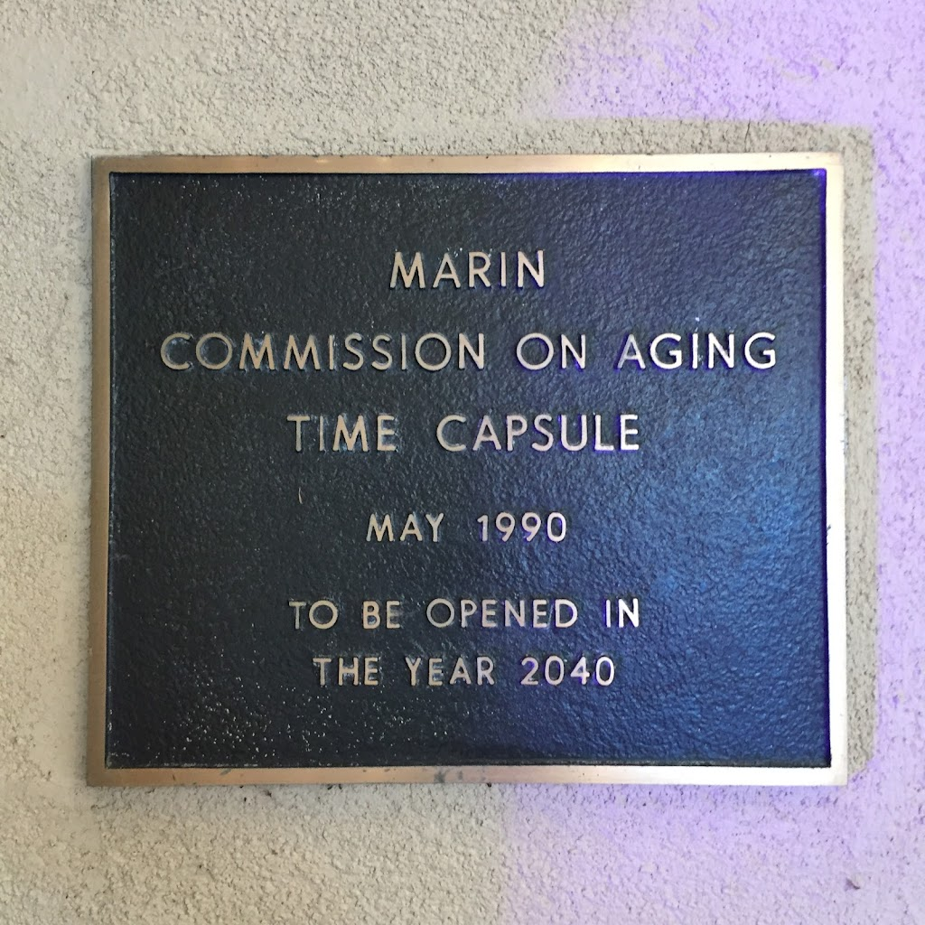 MARIN COMMISSION ON AGING TIME CAPSULE MAY 1990 TO BE OPENED IN 2040