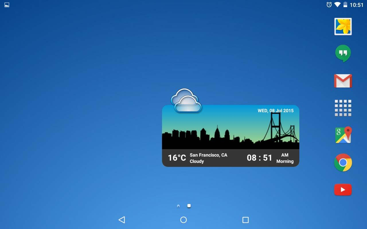 Metro Clock Widget Screenshot 5