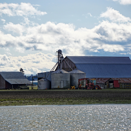 Skagit Valley  by Todd Reynolds - Buildings & Architecture Other Exteriors