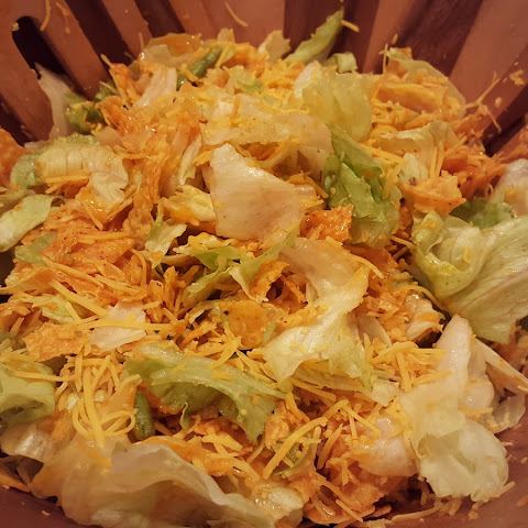 Girls Night In and Doritos Salad