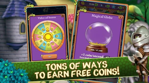Mahjong Blitz - Land of Knights & Dragons apk screenshot