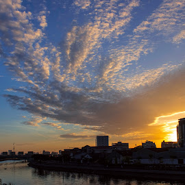 dawn. by Binh HT - Landscapes Sunsets & Sunrises