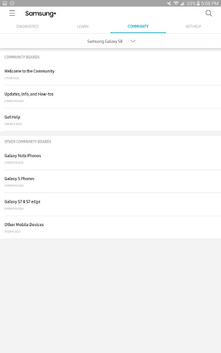 Samsung+ screenshot 11