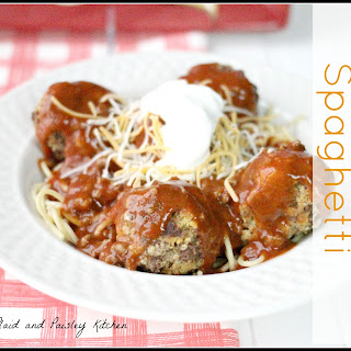 Mexican Spaghetti with Meatballs