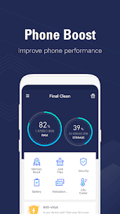 Final Clean - Make your phone fast as a dream for pc