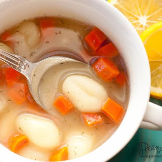 Gnocchi Soup With Lemon And Dill