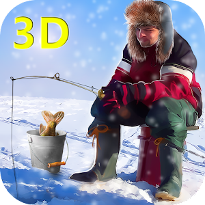 Game ice winter fishing 3d apk for windows phone android for Ice fishing apps