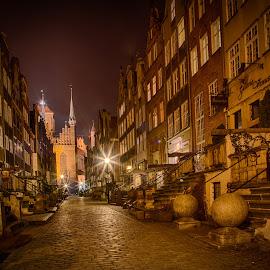 Mariacka street in Gdansk by John Einar Sandvand - Buildings & Architecture Public & Historical ( gdansk, mariacka, poland )