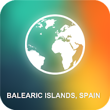 Balearic Islands, Spain Map