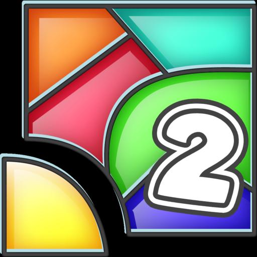 Color Fill 2 - Tangram Blocks (game)