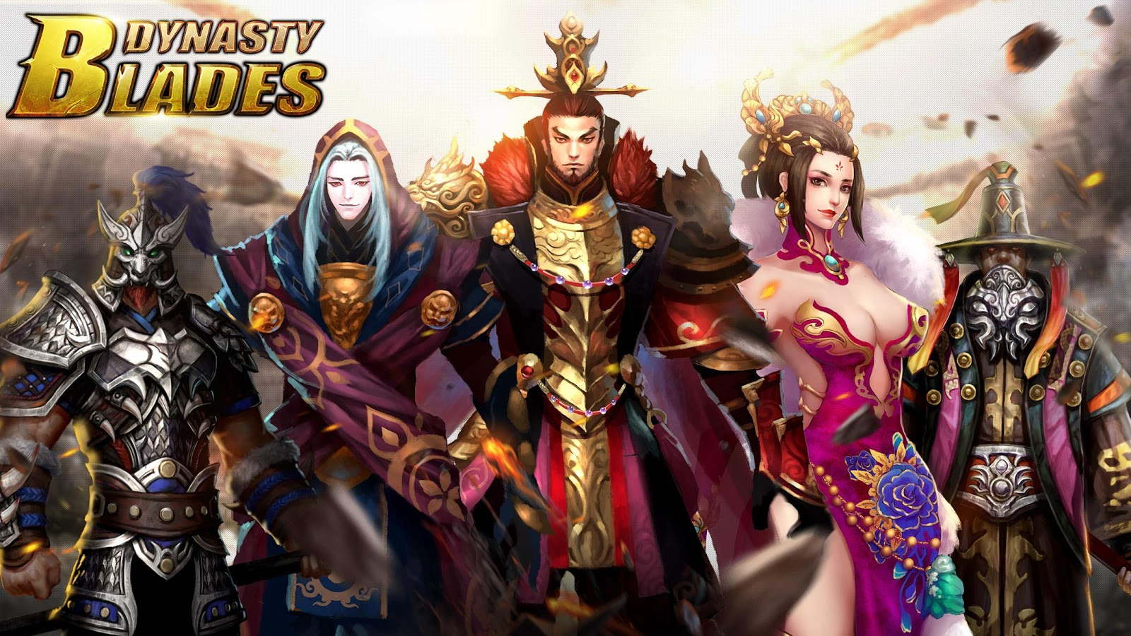Dynasty Blades: Warriors MMO Screenshot