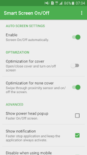 App Smart Screen On/Off Auto APK for Windows Phone