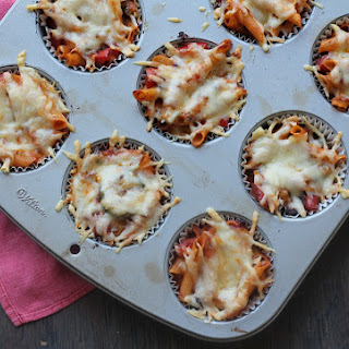 Baked Pasta Cups