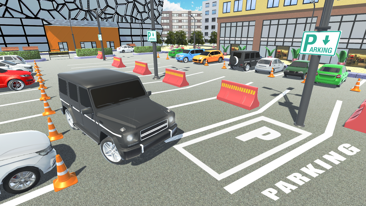 Luxury Parking Screenshot 0