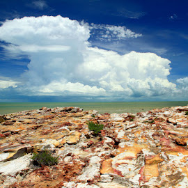 Nightcliff Colours by Robyn Weber - Landscapes Cloud Formations (  )