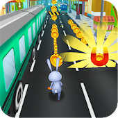 Game Subway Surfing Bunny: 3D Looney Toons, Bugs, Tunes APK for Windows Phone