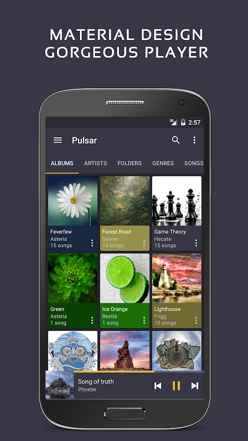 Pulsar Music Player Pro Screenshot 0