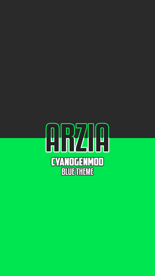 Arzia Light CM Theme - Green Screenshot 0