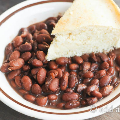 Pinto Bean Supper and Favorite Southernisms