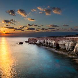 Ayia Napa by Serhan Tekin - Landscapes Sunsets & Sunrises ( atia, sunset, napa )