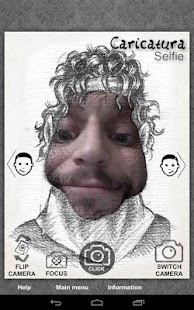 Caricatura Selfie- screenshot thumbnail