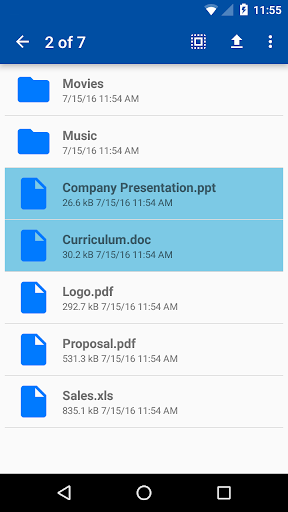 File Transfer Pro - screenshot