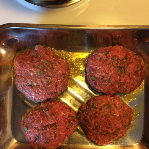 Gourmet Burgers With Chives