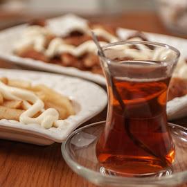 tea enjoyment by Ercan Kuru - Food & Drink Plated Food ( foodphotography, foodporn, foodie, foodgasm, food52, foodstagram, food )