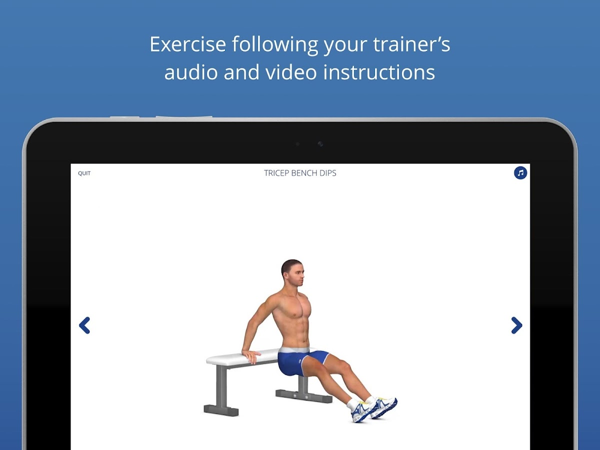 P4P 7 Minute Workout PRO Screenshot 9